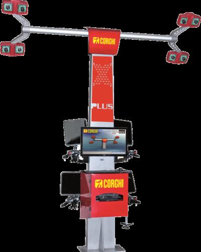 0201008 CORGHI 3D Wheel Aligner - Exact Black Tech X Plus